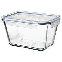 Контейнер для продуктов с крышкой ИКЕА/365+ стекло 1.8 л ИКЕА, IKEA, фото 1