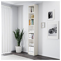 БИЛЛИ Стеллаж, белый, 40x28x237 см, фото 1