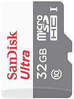 Универсальная карта памяти SANDISK Ultra Android microSDHC + SD Adapter (32Gb)