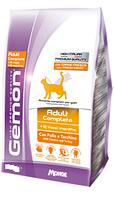 Корм Monge Gemon Adult для взрослых кошек (Тунец и лосось) - 1.5 кг