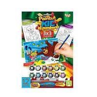 """Danco Toys Набор для творчества """"Раскраска по номерам Painter kids Маша и медведь под водой"""""""