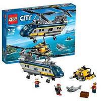 LEGO Конструктор Город Вертолет исследователей моря