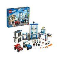 LEGO Конструктор Город Полицейский участок