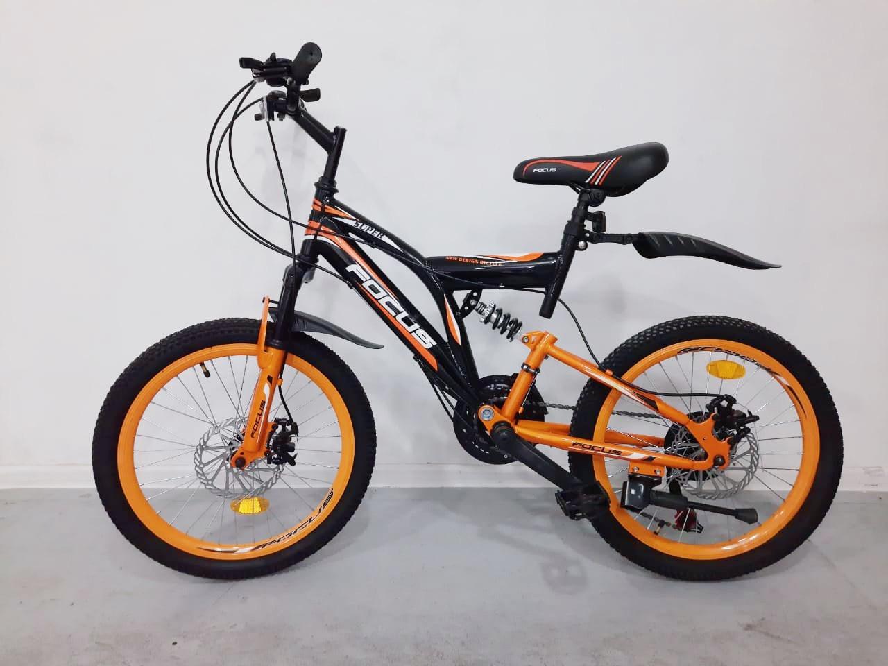Детский двухколесный велосипед Focus 20D