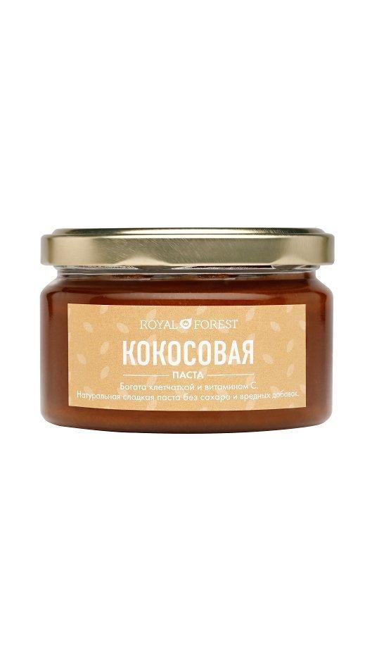 Кокосовая паста Royal Forest, 200 гр