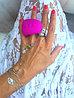 """Вибратор на палец 2 в 1 """"Gring XL - Sweet Raspberry"""" - Gvibe, 5.0 см, фото 6"""