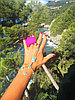 """Вибратор на палец 2 в 1 """"Gring XL - Sweet Raspberry"""" - Gvibe, 5.0 см, фото 7"""