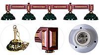 Лампа на пять плафонов «Dandy» (для 11-12ф стола)