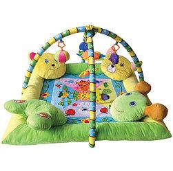 Игровой коврик Lorelli С 4-мя подушечками