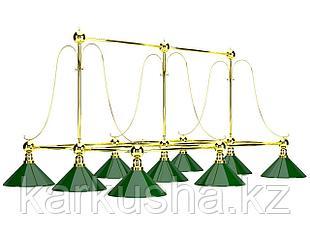 Светильники бильярдные на девять плафонов