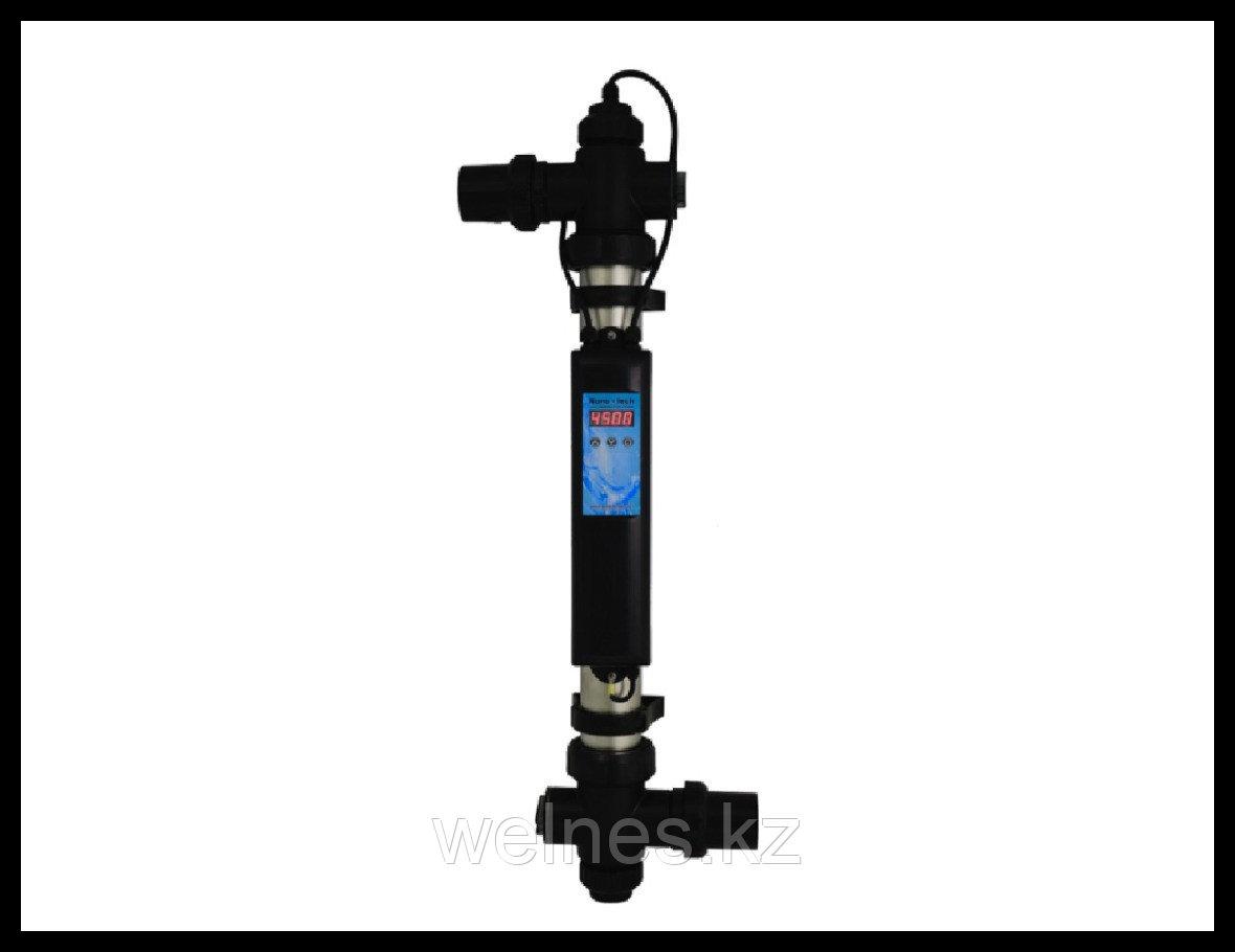 Ультрафиолетовая установка Nano Tech 316L NT-UV130-ТF, 130 Вт (с таймером, датчиком протока)