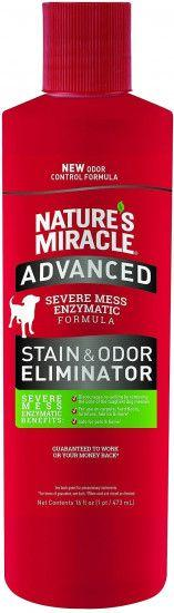 Уничтожитель пятен и запахов с усиленной формулой 8in1 Nature's Miracle Advanced для собак - 473 мл