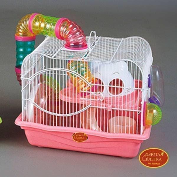 Клетка для мелких грызунов - 36х27х28 см