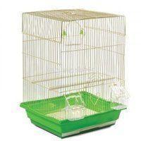 Клетка для птиц (Золото) - 35х28х43 см