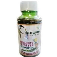 IMMUNITY BOOSTER Juice, Sangam Herbals (ФЛЕНГИ+ сокосодержащий безалкогольный напиток, Сангам Хербалс), 500 мл