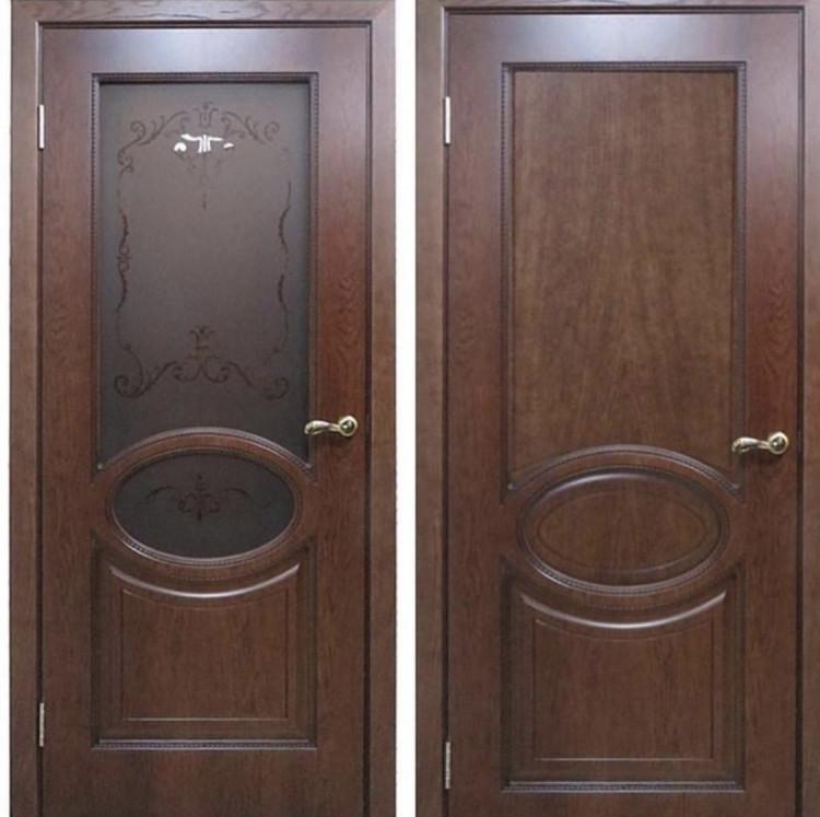Дверь Верона 4 Мореный дуб