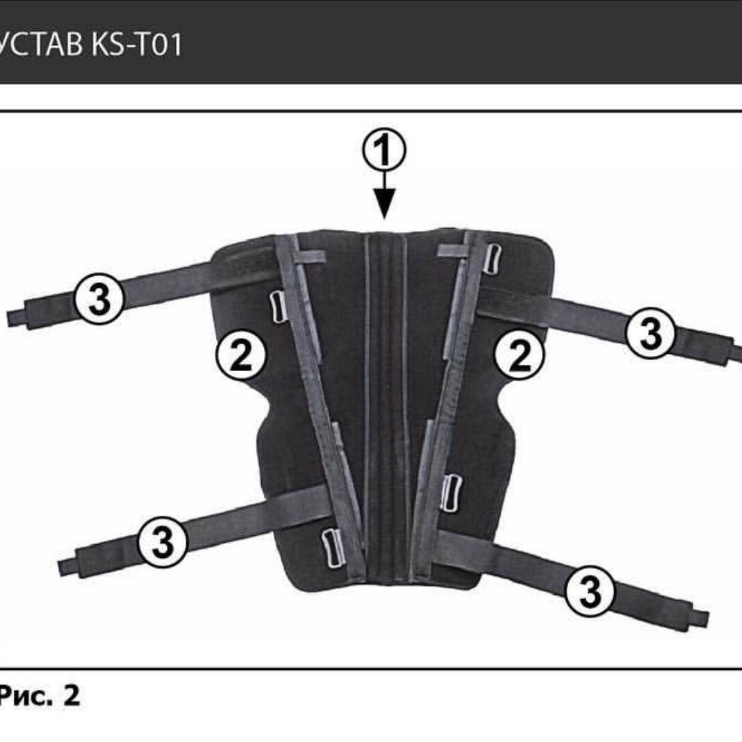 Тутор на коленный сустав KS-T01 - фото 3