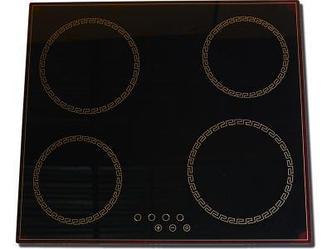 Встраиваемая поверхность Simfer H6CH0460SR Бежевое стекло