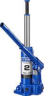 Домкрат гидравлический бутылочный T50, ЗУБР Профессионал 43060-2, 2т, 180-347мм