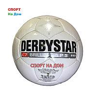Кожаный футбольный мяч Derbystar (размер 5)