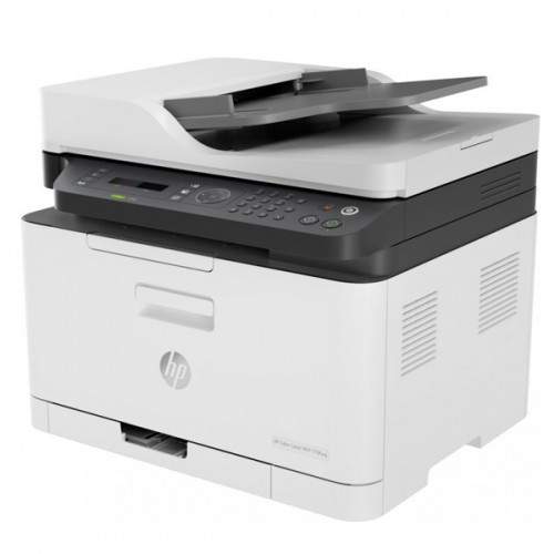 Мфу HP 4ZB97A HP Color Laser MFP 179fnw Printer (A4) , Printer/Scanner/Copier/Fax/ADF, 600 Dpi, 4/18 Ppm, 128M