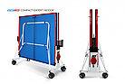 Теннисный стол Compact Expert Indoor с сеткой СИНИЙ (BLUE), фото 4