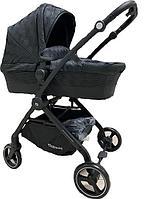 Универсальная детская коляска  2в1 BABYKISS SHUTTLE (черная). Китай