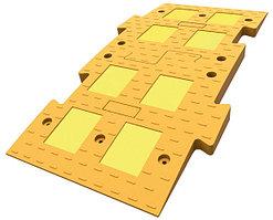 Лежачий Полицейский ИДН-1100-1 Композит желтый (Средний элемент)