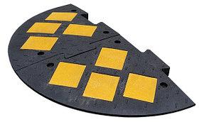 Лежачий Полицейский ИДН-1100-2 Композит черный (Концевой элемент)