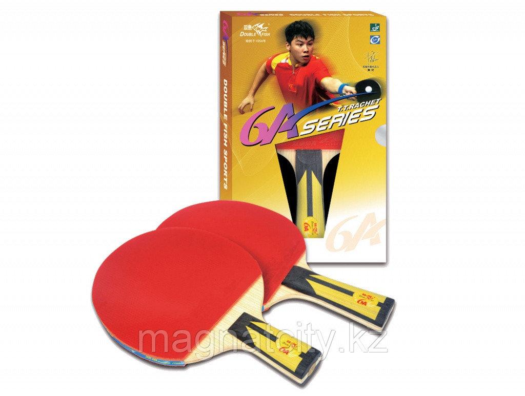 Ракетка для настольного тенниса DOUBLE FISH - 6А-С (ITTF)