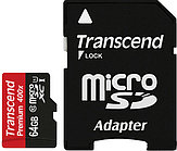 Карта памяти Transcend TS64GUSDU1 (64Gb)