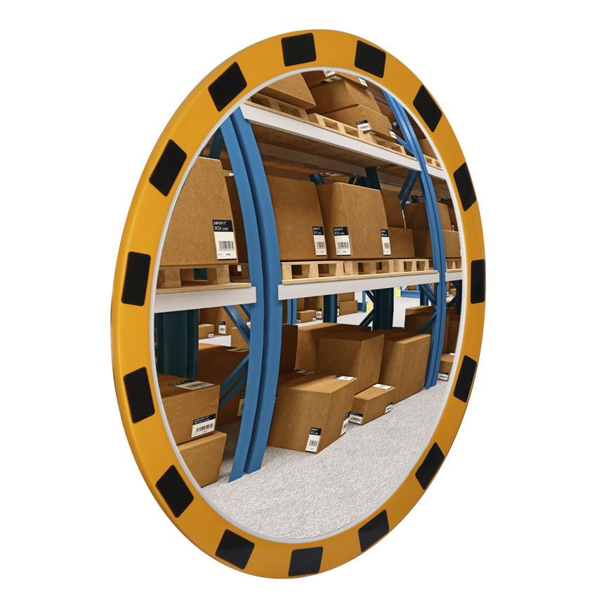 Зеркало индустриальное круглое 600 мм
