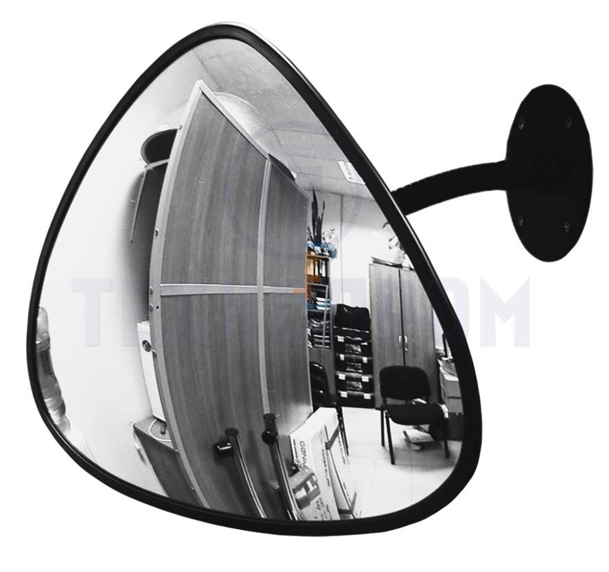 Зеркало для помещений треугольное