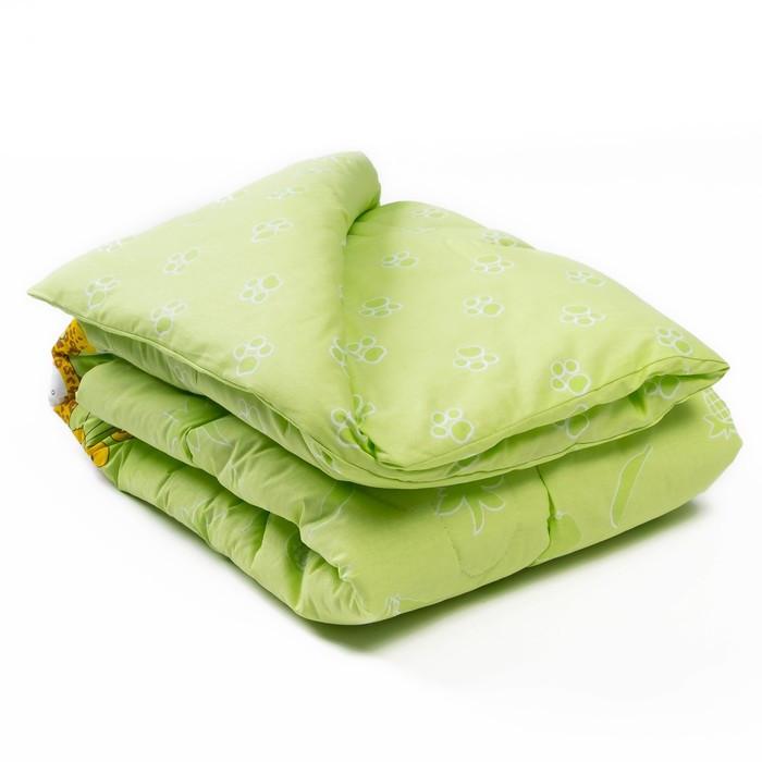 Одеяло, размер 110 × 140 см, цвет салатовый