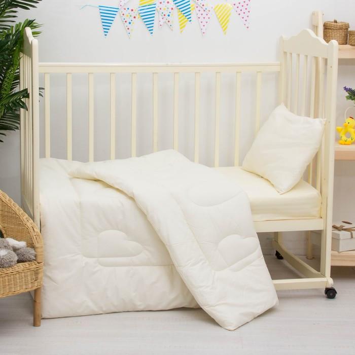 Комплект в кроватку «Бамбук», 2 предмета, цвет белый