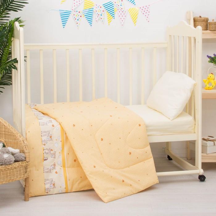 Одеяло, размер 110 × 140 см, цвет микс