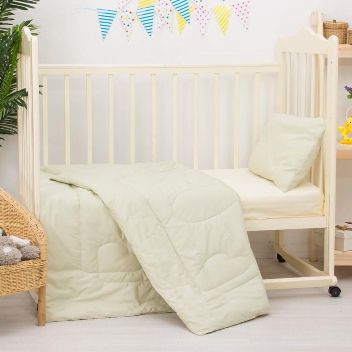Комплект в кроватку «Алоэ», 2 предмета, цвет зелёный