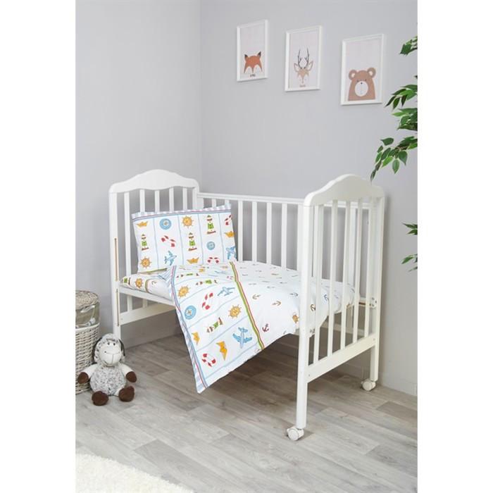 Детское постельное бельё «Маяк», размер 110×147 см, 112×147 см, 40×60 см