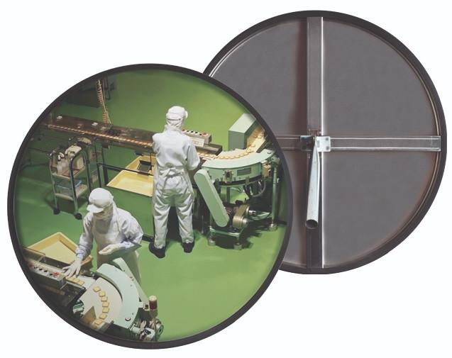 Зеркало из нержавеющей стали круглое 600 мм