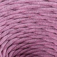 Пряжа трикотажная широкая 'Saltera' 100м/300гр, ширина 7-9 мм (108 лиловый меланж)