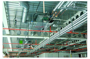 Система отопления торговых центров