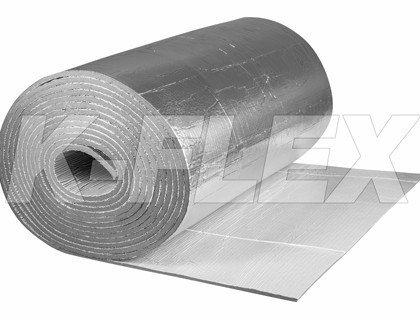 Рулонная теплоизоляция K-Flex AIR AD  METAL (с клеевым слоем), фото 2