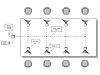 Глушитель сотовой связи, Комплект из 16-ти подавителей для переговорной комнаты на 8 человек