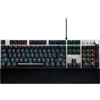 Wired Gaming Keyboard,Black 104 mechanical switches,60 million times key life, 22 types of lights,Removable