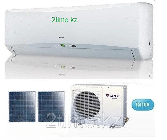 Кондиционер на солнечных панелях Gree-12 Solar series (комплектуется медными. до 35 кв.м