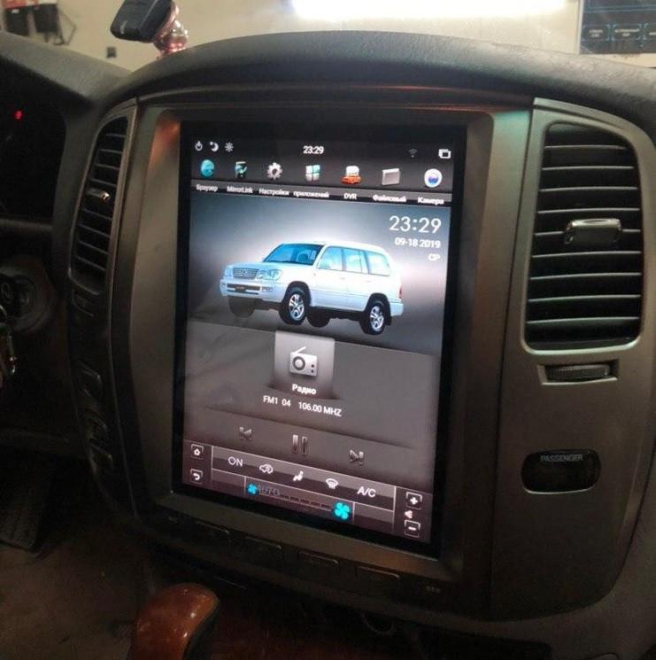 Автомагнитола (Монитор) Тесла для Lexus Lx 470 2003-2006