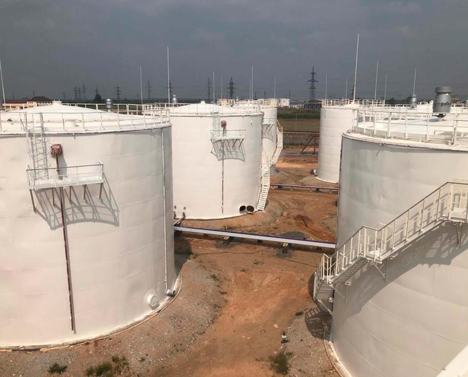 Резервуары под нефтепродукты