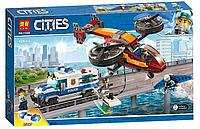 Конструктор Cities LARI 11209 424 дет., Воздушная полиция: кража бриллиантов, лего