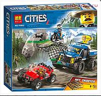 Конструктор BELA Cities Погоня по грунтовой дороге (Аналог LEGO City 60172) 315 дет