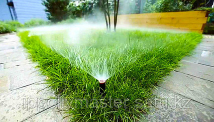 Автоматический полив газона